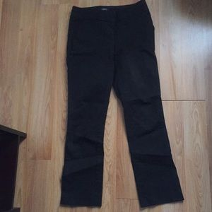 Two pairs size 2 work pants from LOFT